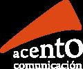 Acento Comunicación Logo